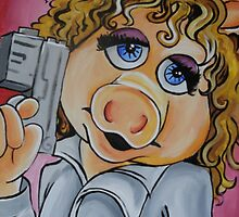 Miss Piggy, Professor River Song by lissyleem