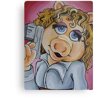 Miss Piggy, Professor River Song Metal Print
