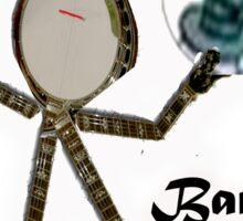 Banjo Mo Sticker