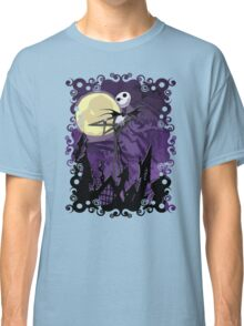Halloween Skinny Ghost Classic T-Shirt