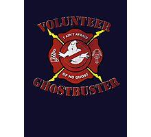 Volunteer Ghostbusters Photographic Print