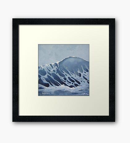 Arctic Wave Framed Print