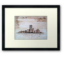 Highrise Framed Print