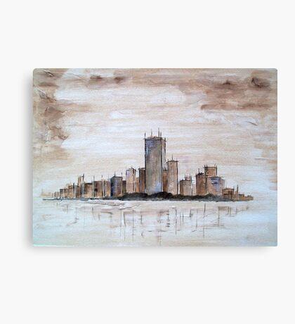 Highrise Canvas Print