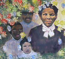 Harriet Tubman, Tears of Joy, Tears of Sorrow by Sandra Hansen