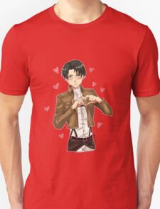 I Heart Levi Ackerman  T-Shirt