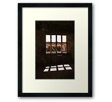 A Window On Time (Helmsley Castle) Framed Print
