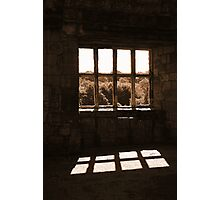A Window On Time (Helmsley Castle) Photographic Print