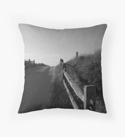 Lone Sane Throw Pillow