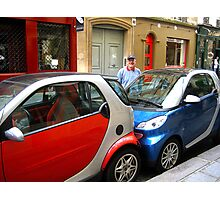 Tight_Squeeze_Parking_in_Paris Photographic Print