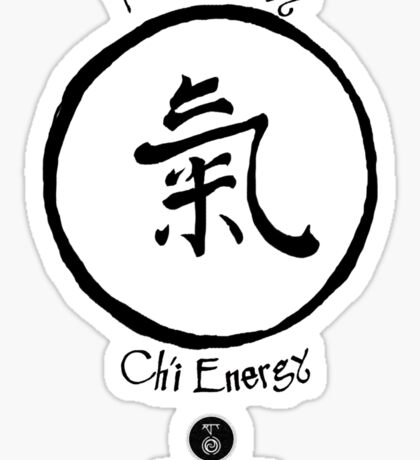 Powered by Ch'i Energy Sticker