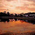 City Sunrise by AroonKalandy
