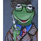 Kermit, Tenth Doctor by lissyleem