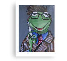 Kermit, Tenth Doctor Metal Print