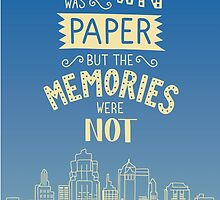 Paper Towns John Green Quote by DesignsByAND