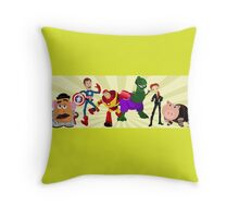 Toy Story Heroes Throw Pillow