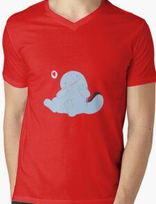 Happy Quag Mens V-Neck T-Shirt