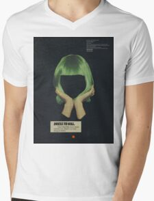 Chandelier Mens V-Neck T-Shirt