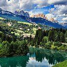 The Dolomites, Italy by Amanda White