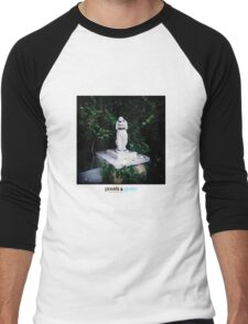 Holga Poodle Men's Baseball ¾ T-Shirt