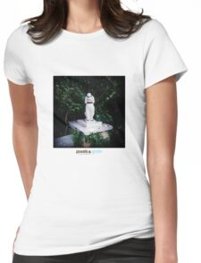 Holga Poodle Womens Fitted T-Shirt