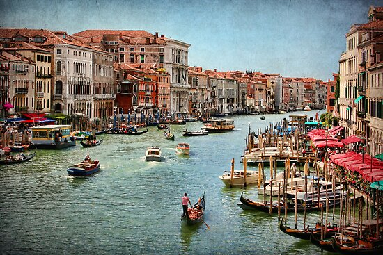 The Grand Canal, Venice by Amanda White
