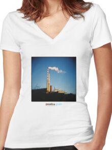 Holga Factory Women's Fitted V-Neck T-Shirt
