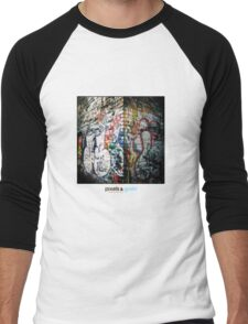 Holga Graffiti Men's Baseball ¾ T-Shirt