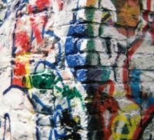 Holga Graffiti Sticker
