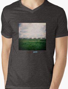 Holga Houses Mens V-Neck T-Shirt