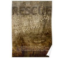 Rescue--Cards Home Poster