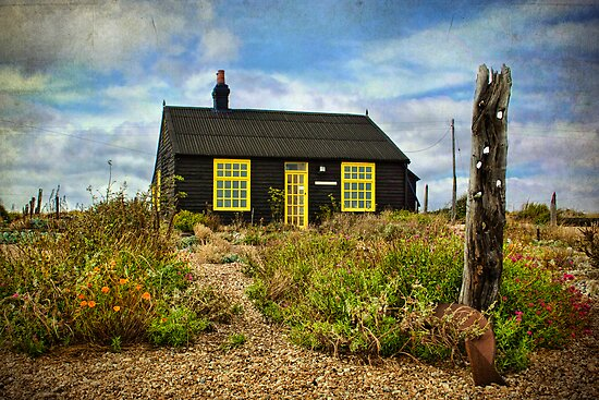 Prospect Cottage, Dungeness by Amanda White