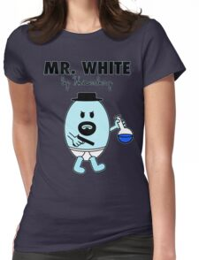 Mr White Womens Fitted T-Shirt