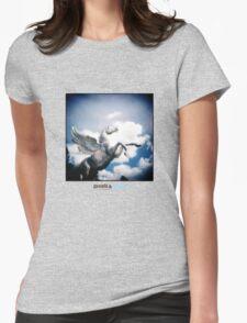 Holga Zinc Horse Womens Fitted T-Shirt