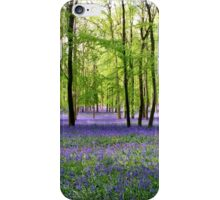 Purple Haze - Bluebell Wood iPhone Case/Skin