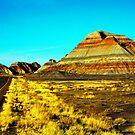 Arizona Badlands by Jeff Blanchard