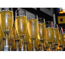 Wedding Champagne Photographic Print