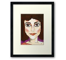 There is no Dana, Only Zuul. Framed Print