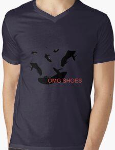 Shoe Love Mens V-Neck T-Shirt