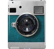 Blue camera with germany lens iPad Case/Skin