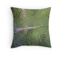Look Who's Coming for Dinner Throw Pillow