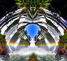 Rainbow Portal by stevenchild