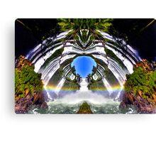 Rainbow Portal Canvas Print