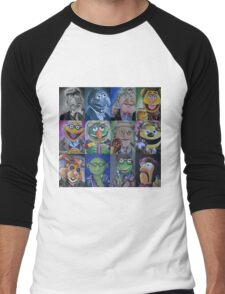 Mahna Mahna Doctor Men's Baseball ¾ T-Shirt