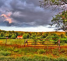 New England countryside by Evelina Kremsdorf
