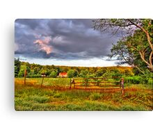 New England countryside Canvas Print
