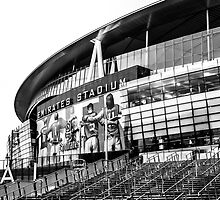 The Emirates Stadium, London by Adam Carra
