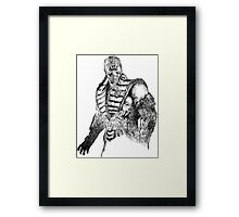 Sub-Zero MKX Art Framed Print