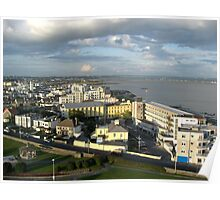 Salthill on Galway Bay Poster