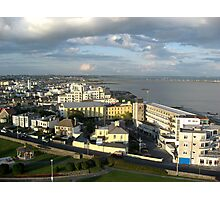 Salthill on Galway Bay Photographic Print